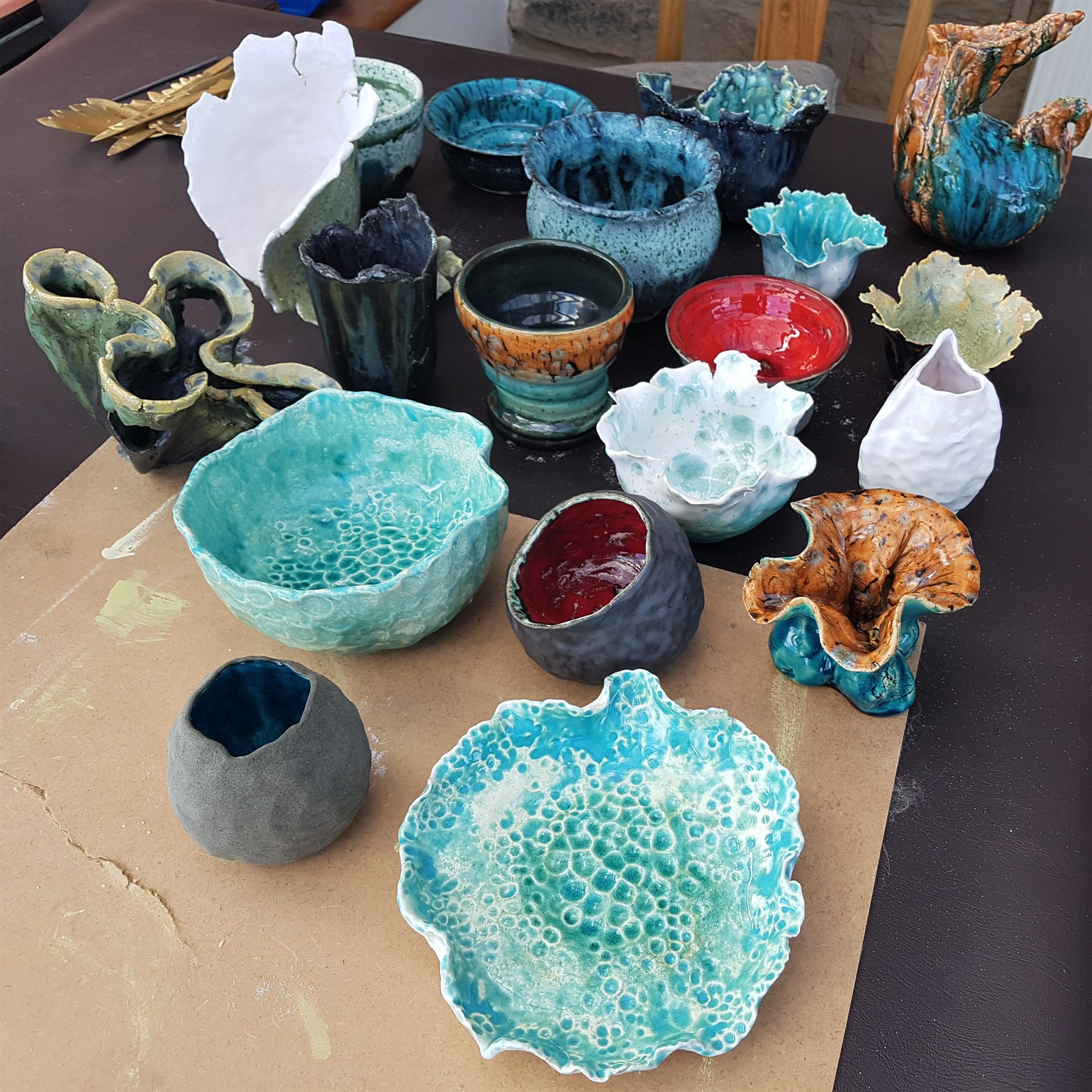 Glazed Pots Collection
