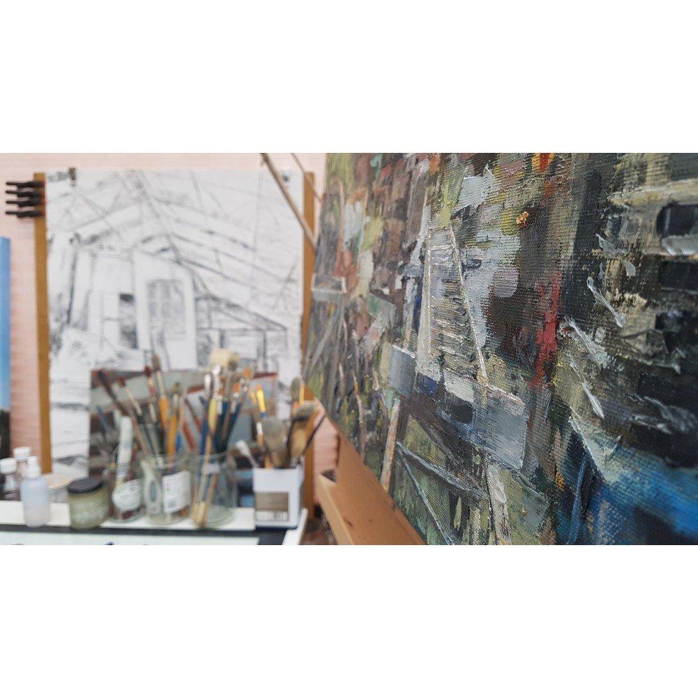 Threlkeld II Studio Scene Julia Brown