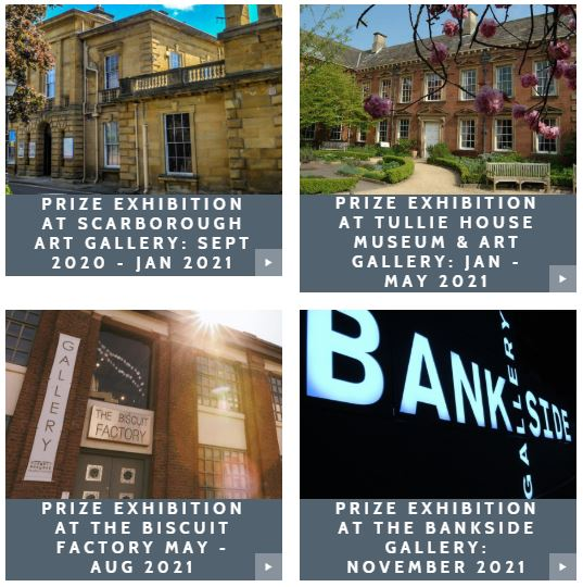New Light Art Prize Exhibition 2020-21 Locations