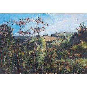 Sanctuary, 2020, Oil Landscape Painting by Julia Brown