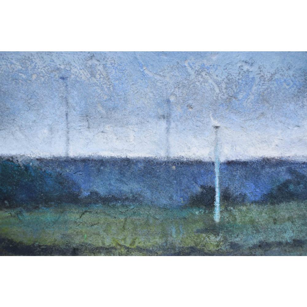 'Section #4- Field Patterns Summer' - Detail 1 | Julia Brown