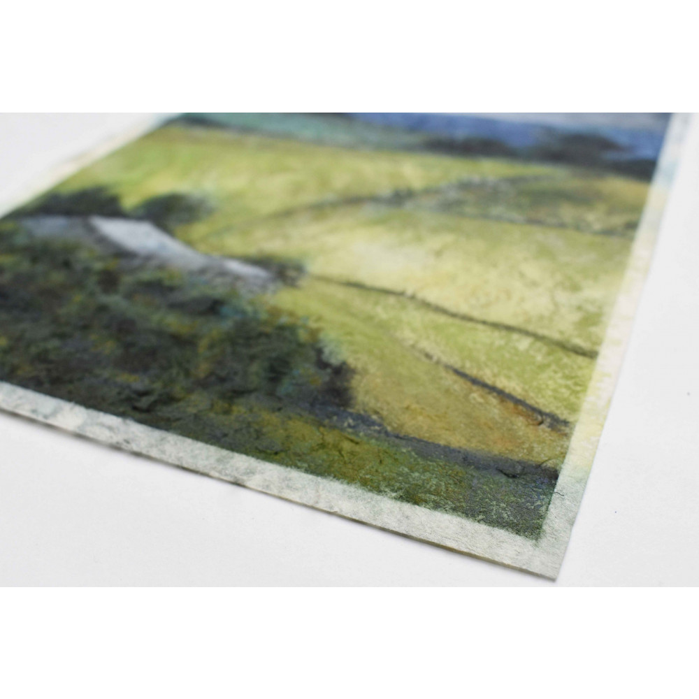 'Section #6 - Field Patterns Summer' - Detail 2 | Julia Brown